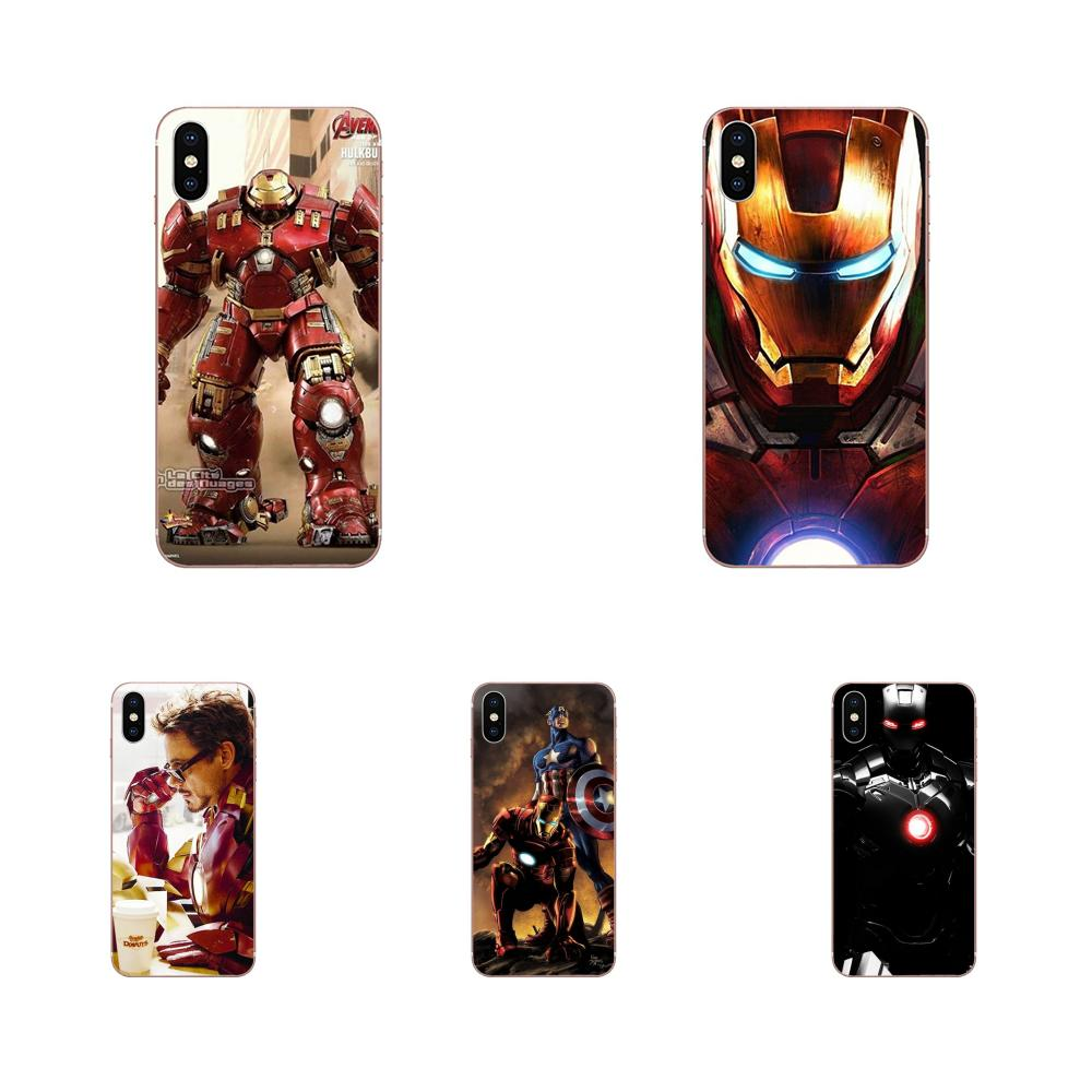 Marvel Super Hero Iron Man America For HTC Desire 530 626 628 630 816 820 830 One A9 M7 M8 M9 M10 E9 U11 U12 Life Plus