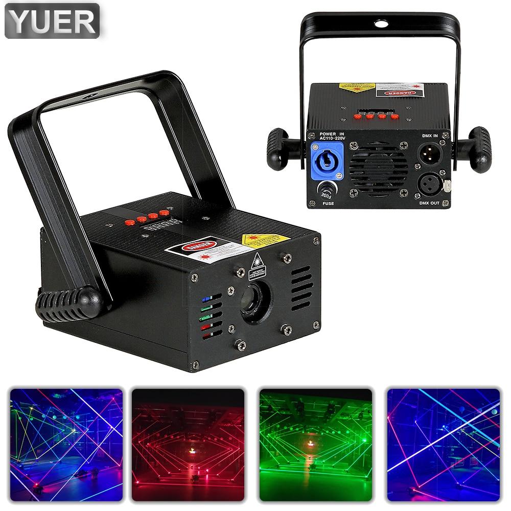 500MW 2W RGB Beam Laser Light 7CH Disco Stage Lighting Party Bar Indoor Pub Wedding Birthday Party DJ Lamp Laser Stage Projector