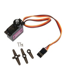 1PC MG90S Micro Metal Gear 9g Servo for RC Plane Helicopter Boat Car 360° Accessories Kids toys Bri