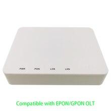 10 Pcs Xpon Apc Fiber Apparaat Om Gebruiker Side Onu 1GE Gpon Epon 1 Poort Onu Ont 1G RJ45 olt 1.25G Gpon Zte Chipset Omvatten Stroombron