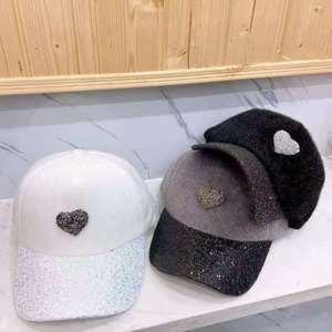 New Women's Baseball Cap Snap Back Cotton Hat Hip Hop Cap for Women Adjustable Casual  Hats