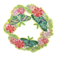 diy 5d special shape rhinestone butterfly flag rabbit wreath diamond painting for wall decoration