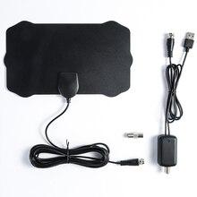 Многонаправленный усилитель 1080P 80 миль F штекер разъем Простая установка ТВ антенна высокое разрешение HD ТВ кабель инструменты