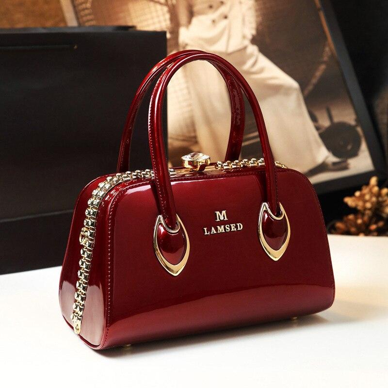 Fashion Stereotyped Leather Bag Ladies Handbag All-match Messenger Shoulder Bag Ladies Bags Designer Handbags High Quality