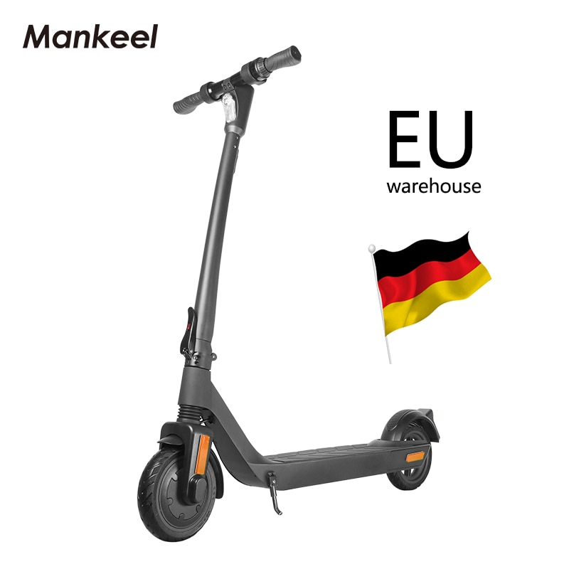 EU Stock Mankeel MK090 Kick Scooter 350W Max Range 30KM 8.5 Inch Tires 25KM/H Speed Super Safety Design Escooter For Adults Kids