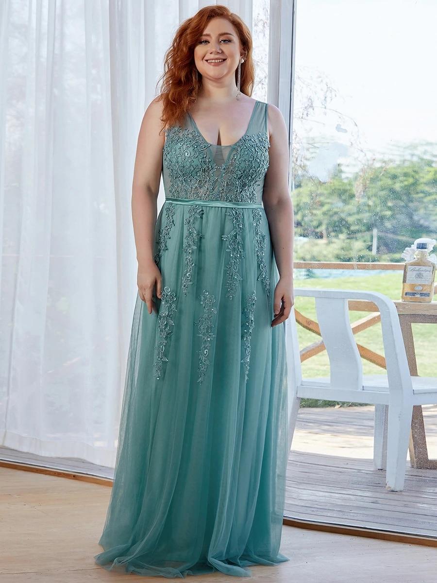 Women's Fashion Sleeveless Wholesale Plus Size Party Dresses