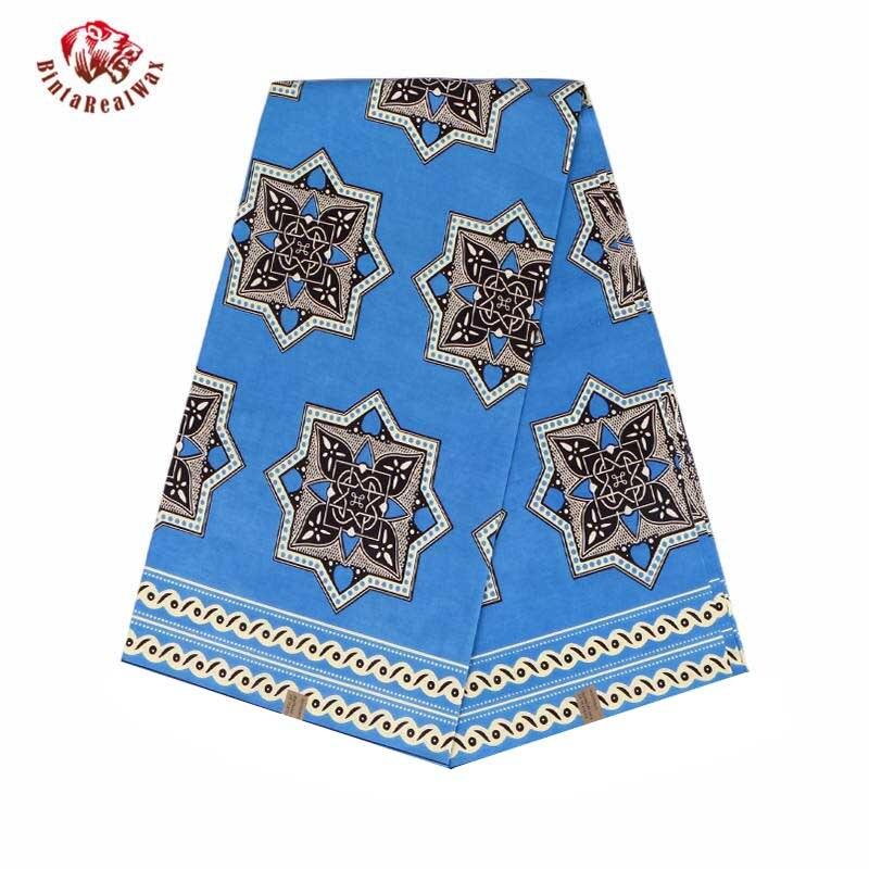Tela africana de alta calidad para vestido de fiesta de alta calidad con estampado de cera Real de Ankara tela barata tela de cinta de cera Real 24FS1119