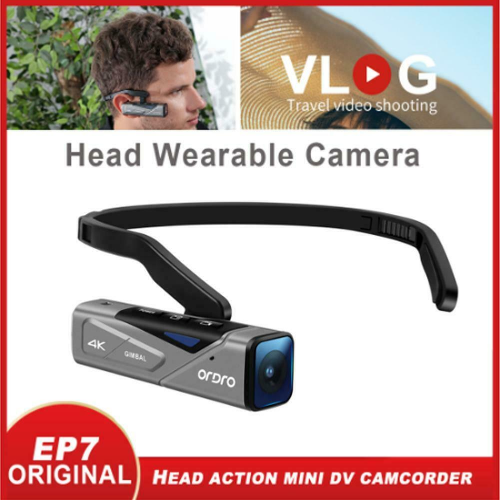 Vlog-كاميرا فيديو محمولة باليد ، كاميرا فيديو محمولة 4K ، 60 إطارًا في الثانية ، WiFi ، FPV ، لمدونين YouTube