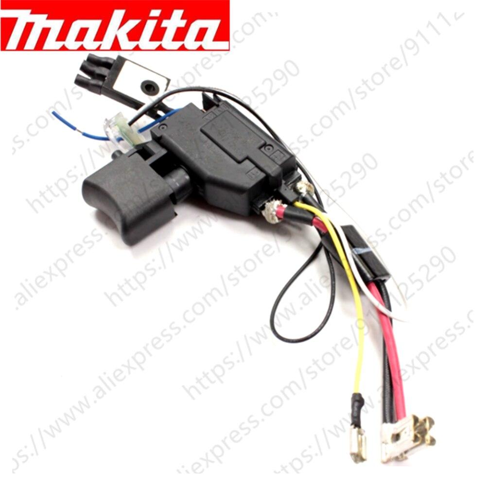 Switch for Makita DHP482 DDF482 632F27-4 DF482D DDF482RME DDF482 DDF482Z DHP482RME DHP482Z DHP482RAE DHP482RFE 650753-7