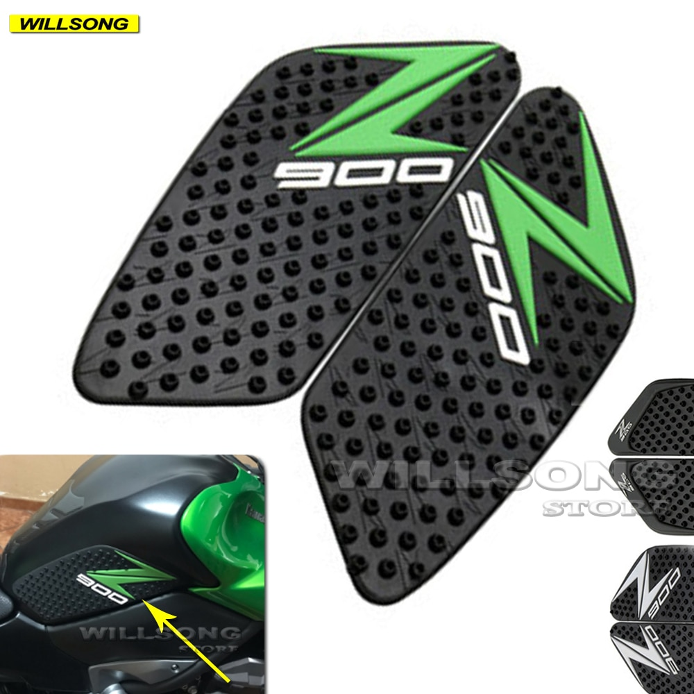 Anti Slip Sticker Tank Pad Side Knee Grip Protector For KAWASAKI Z900 2017 2018 2019 2020 2021 Year Motorcycle Accessories