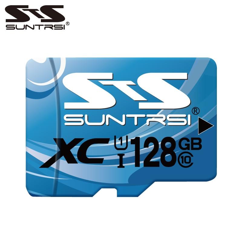 Tarjeta Mini SD Suntrsi de 32 GB/64 GB/128 GB/256GB, tarjeta TF Class10, tarjeta de memoria Micro SD C10 UHS de gran calidad para SmartPhone y cámara