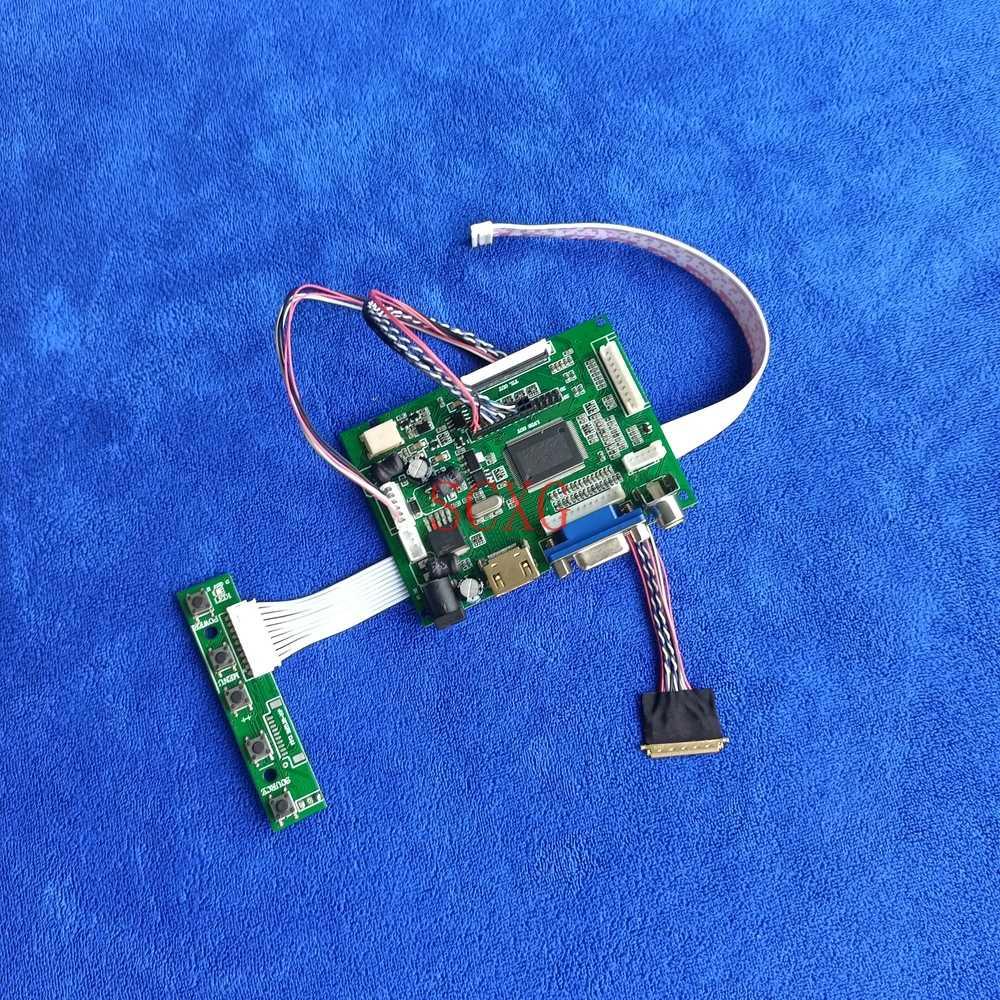 HDMI-متوافق VGA AV لتقوم بها بنفسك عدة صالح B101EW05/B101EW06 أجهزة الكمبيوتر المحمولة 40 دبوس LVDS 60Hz WLED 1280*800 LCD جهاز تحكم بالشاشة محرك المجلس