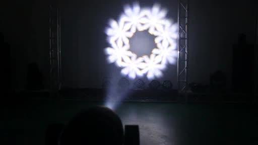 Marslite LED الإضاءة 150 واط LED Gobo العارض تتحرك رئيس مصباح التكبير والتصغير للمرحلة ليلة نادي الزفاف الحدث