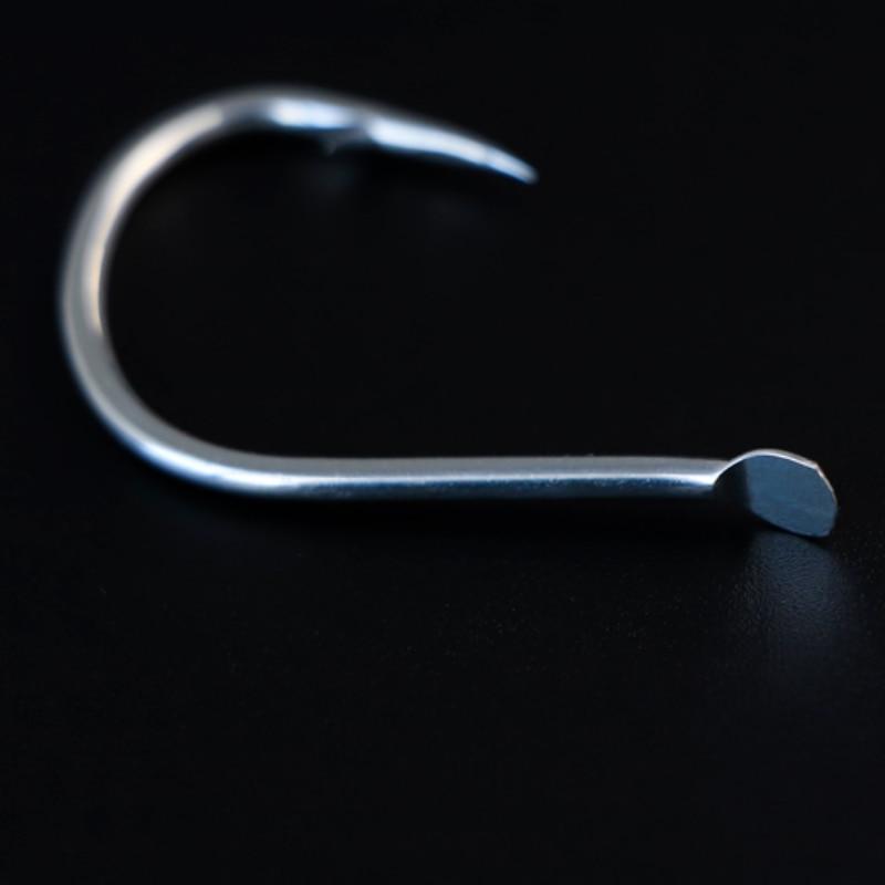 1000pcs 2/0 3/0 Fishing Hook Wholesale Japan Flat Pike Jigging Hooks Sea High Carbon Steel Super Anti-rust Fishhook Accessories enlarge
