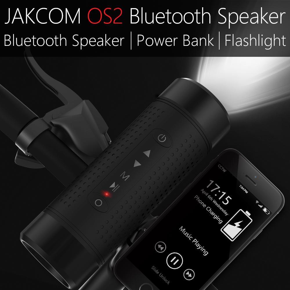 Altavoz inalámbrico para exteriores JAKCOM OS2 más nuevo que el reproductor de música mp3 de batería externa receptor noco multibanda am transmisor gb150