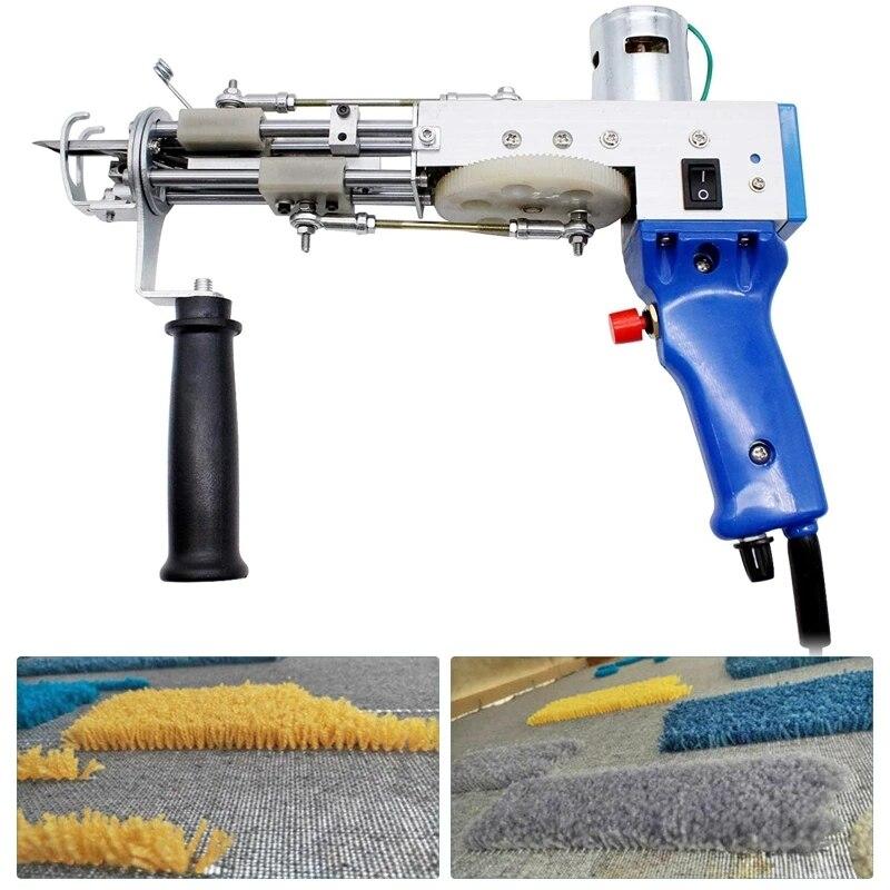 Electric Rug Tufting Gun Weaving Flocking Machines Carpet Tufting Gun Hand Gun Carpet Cut Pile And Loop Pile Machines Home Decor enlarge
