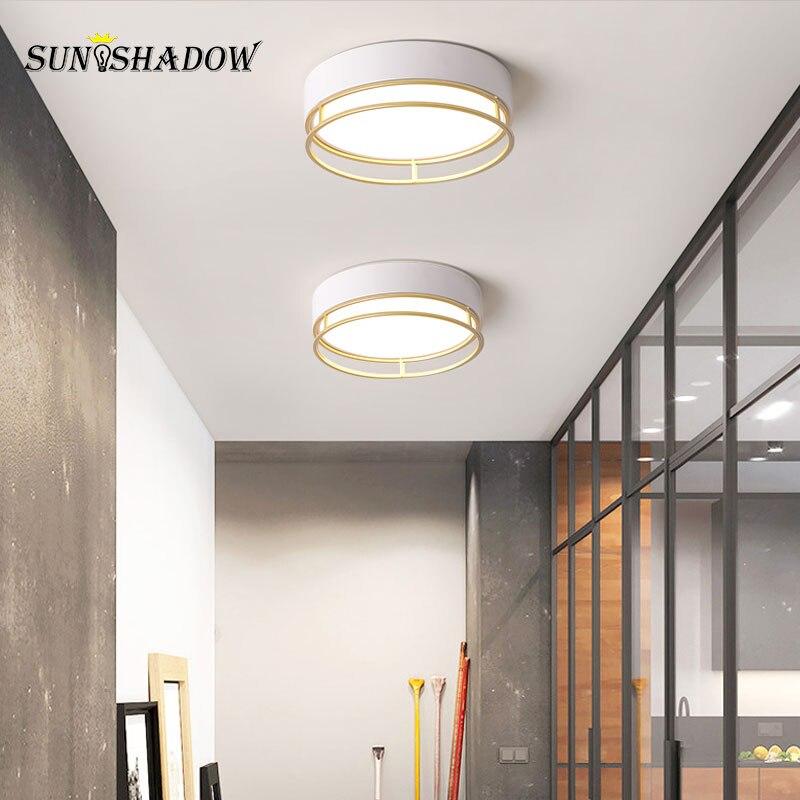 lustre de teto moderno led 12w luminaria de teto branca para casa sala de estar sala