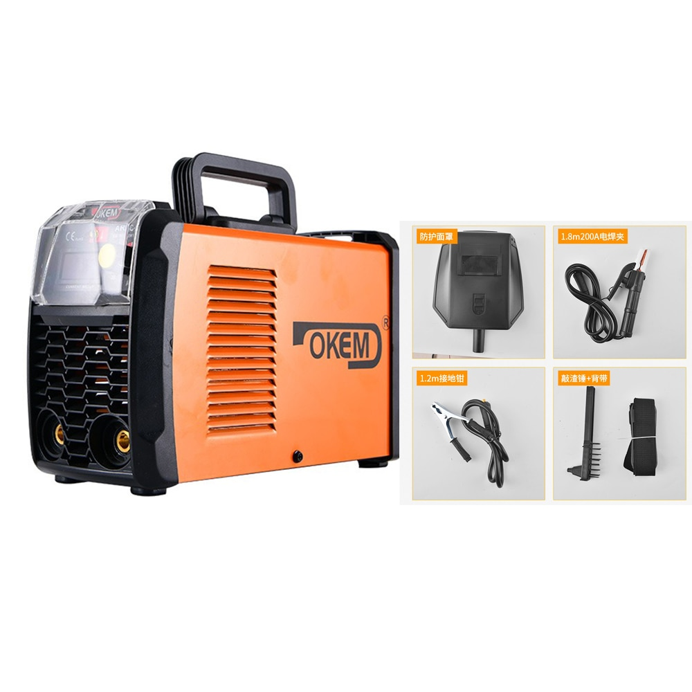 ARC Lightweight Electric Welding Machine ARC250 Led Digital Display Mini DC Inverter Metal Welding IGBT Welder Household factory supplier electric welder inverter arc welding machine circuit board