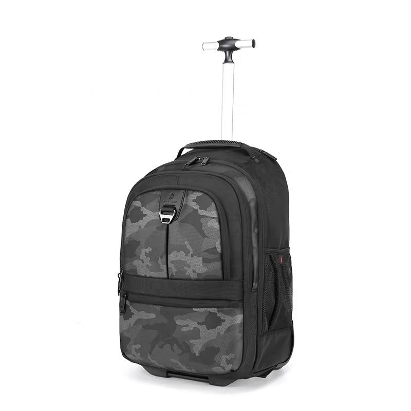 Многофункциональная деловая сумка для мужчин чемодан на колесах поездок