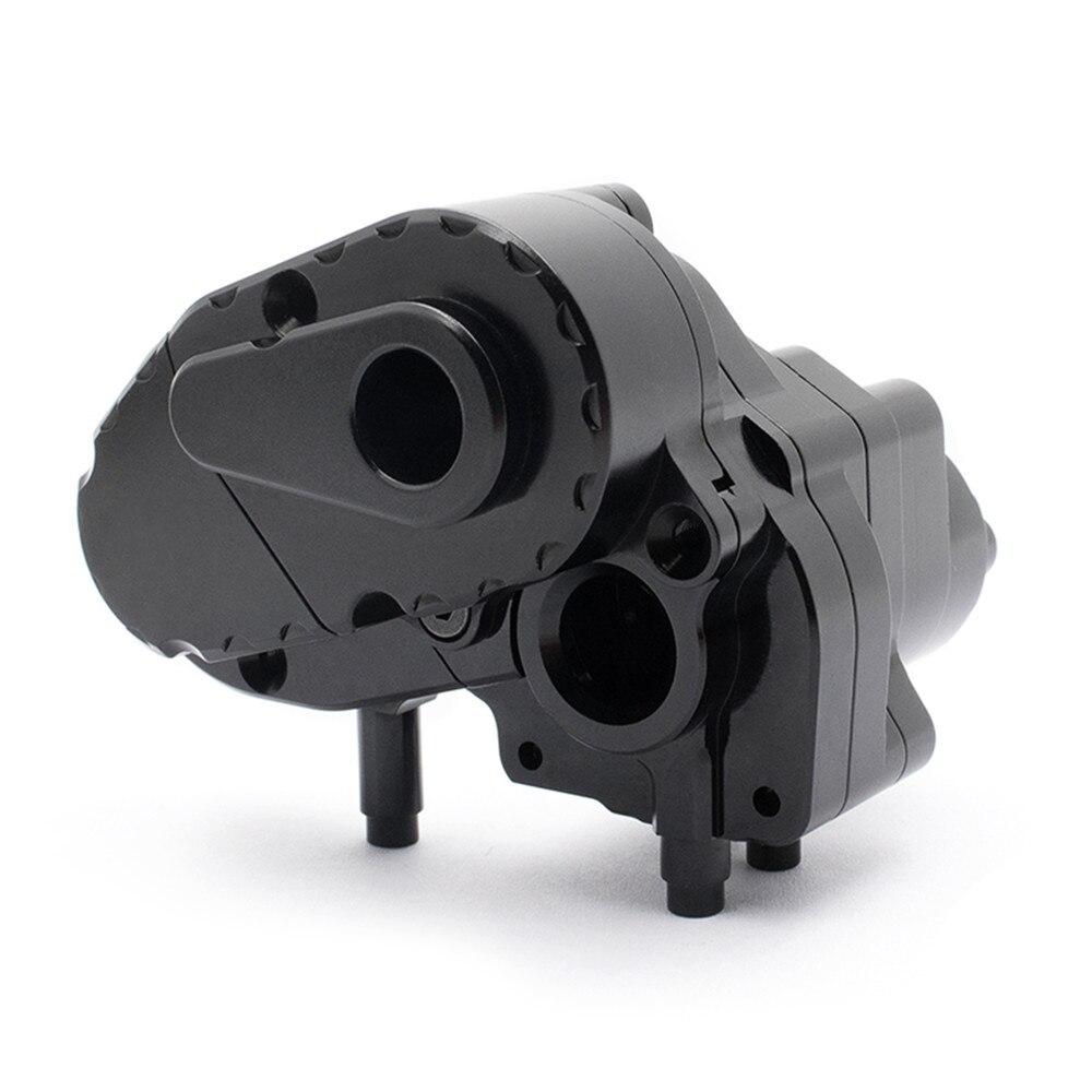 Caja de engranajes de aleación de aluminio CNC conjunto de carcasa de caja de cambios para piezas de actualización de coche Axial Capra UTB RC