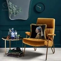 home decorative sofa throw pillows retro art living room sofa hug pillowcase cushion cover tassel pillowcase car back cover
