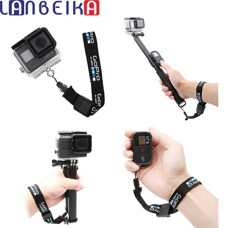 Nylon Einstellbare Sicherheits Handgelenk Gurt String Hand Lanyard Seil Schnur Für GoPro Hero 7 6 5 SJCAM SJ4000 SJ5000 SJ6 SJ8 SJ9 DJI OSMO