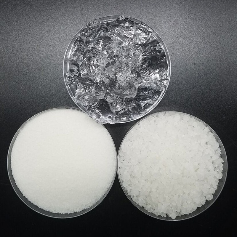 Poliacrilato de potasio de savia de 500g para agricultura, poliacrilato de potasio, polímero de retención de agua, cristalina absorbente