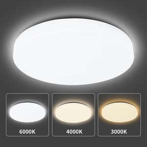 Modern LED Round Ceiling Light 20W 200-240V Flush Mounted Panel Light Bedroom Bathroom Home Decoration Kitchen Lighting Lamp