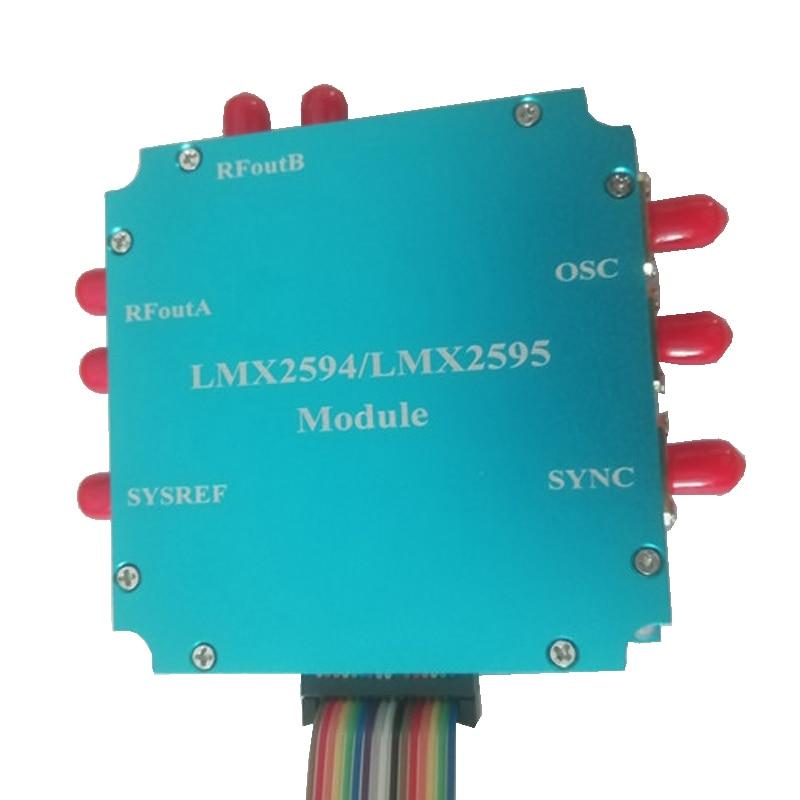 LMX2594 LMX2595 مجلس تطوير المزج تردد PLL المرحلة قفل حلقة 10M-20GHz عالية التردد مصدر إشارة الميكروويف