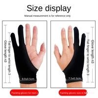 a new generation of digital tablet tablet computer sketch drawing gloves to prevent accidental touch