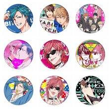 Anime Yarichin chienne-bu Club Cosplay Badges Ayato Yuri broche icône YUI TAMURA Collection sac broche pour sacs à dos vêtements