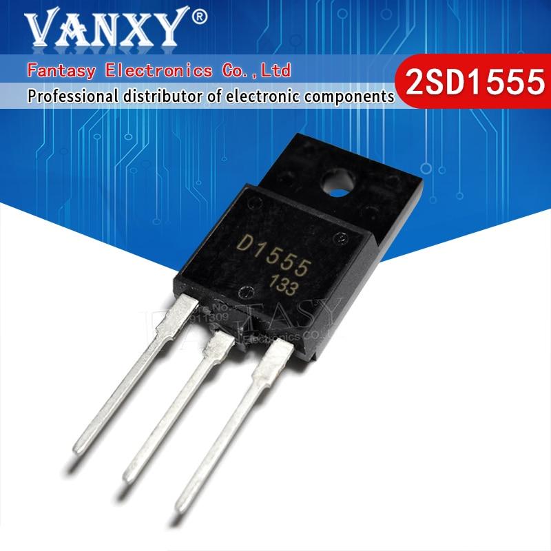 5PCS 2SD1555 TP-3PF D1555 TO-3P transistor