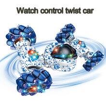 1:12 reloj a control remoto para coche, detección de gestos, rc, giro, drift, coche remoto, doble cara, porcelana, truco, coche, deformación, Juguetes