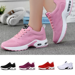 Women's Vulcanize Shoes Lightweight Sneakers Breathable Running Shoes Tennis Comfortable Footwear Casual  Zapatillas Mujer