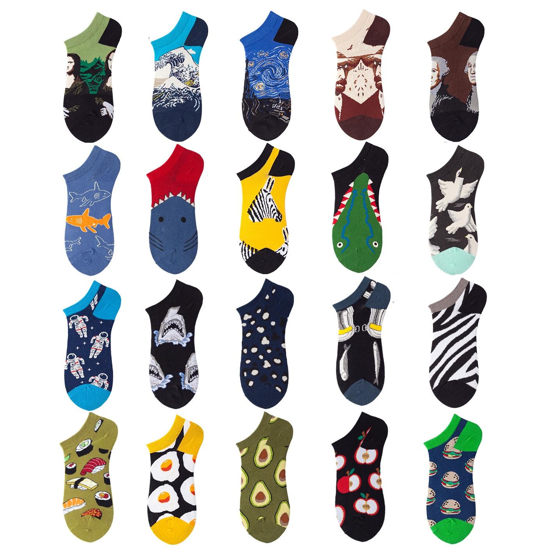 Хлопковые качественные Повседневные Дышащие носки-лодочки, короткие мужские носки, летние мужские тонкие тапочки, короткие носки-лодочки