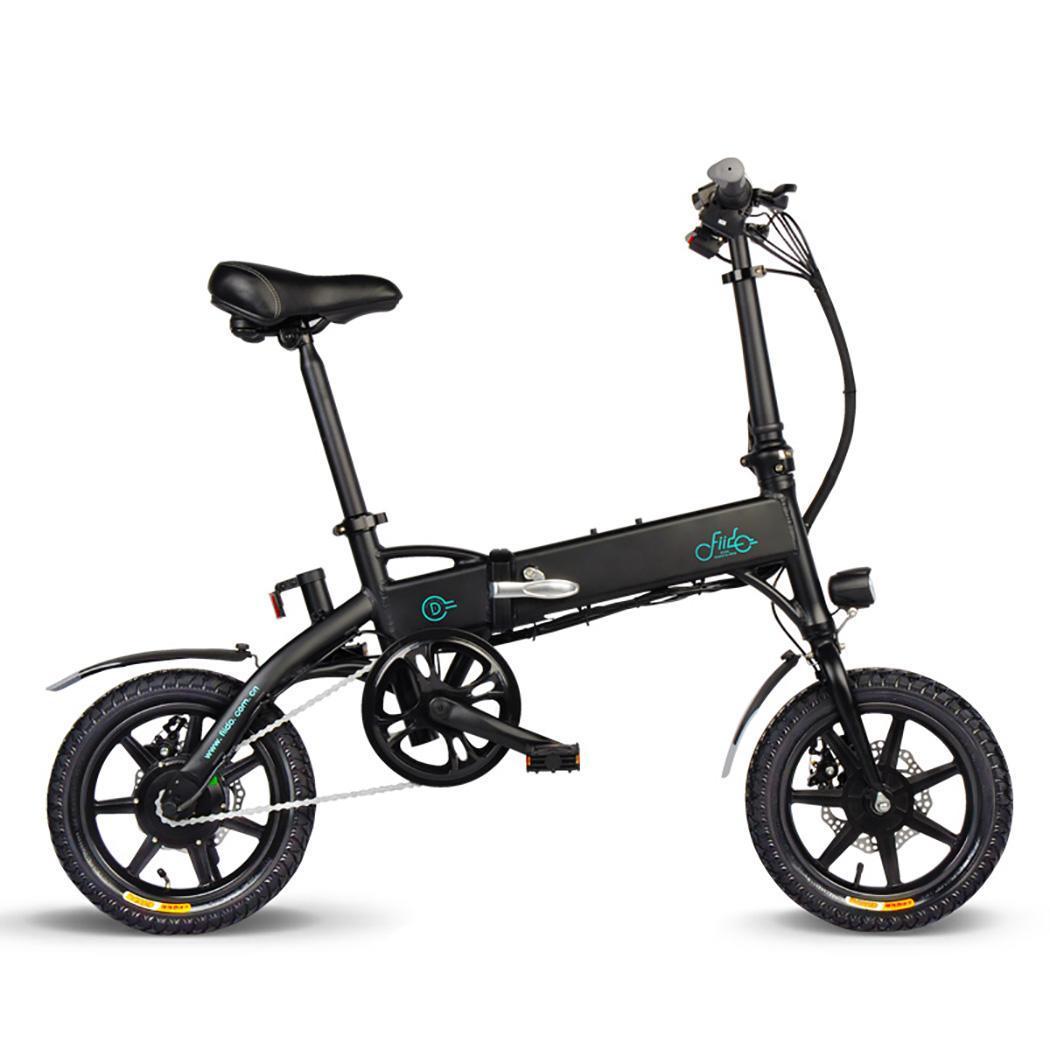 Bicicleta plegable de aleación de aluminio con Motor de cubo de 250W