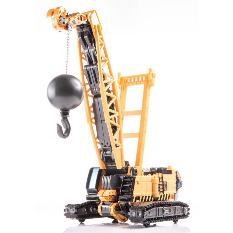 Transformation MT04 MT-04 Oversize Alloy Yellow Iron Arm Hightower Crane Oversize Alloy Action Figure Robot Deformed Toys Gifts