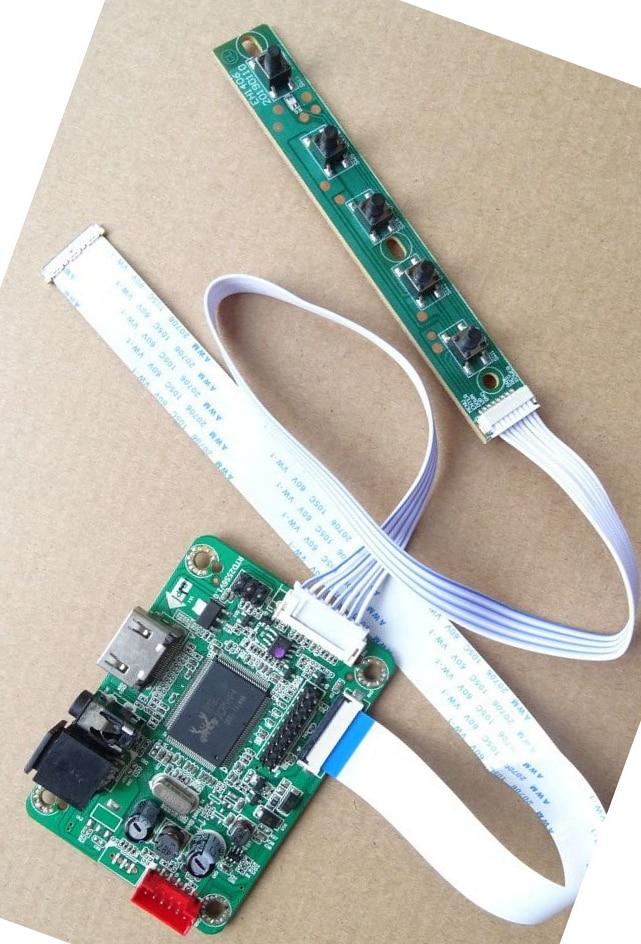 LCD HDMI متوافق LED EDP تحكم صغير لوحة للقيادة عدة لعرض NT140WHM-N31/NT140WHM-N34 1366X768 لوحة
