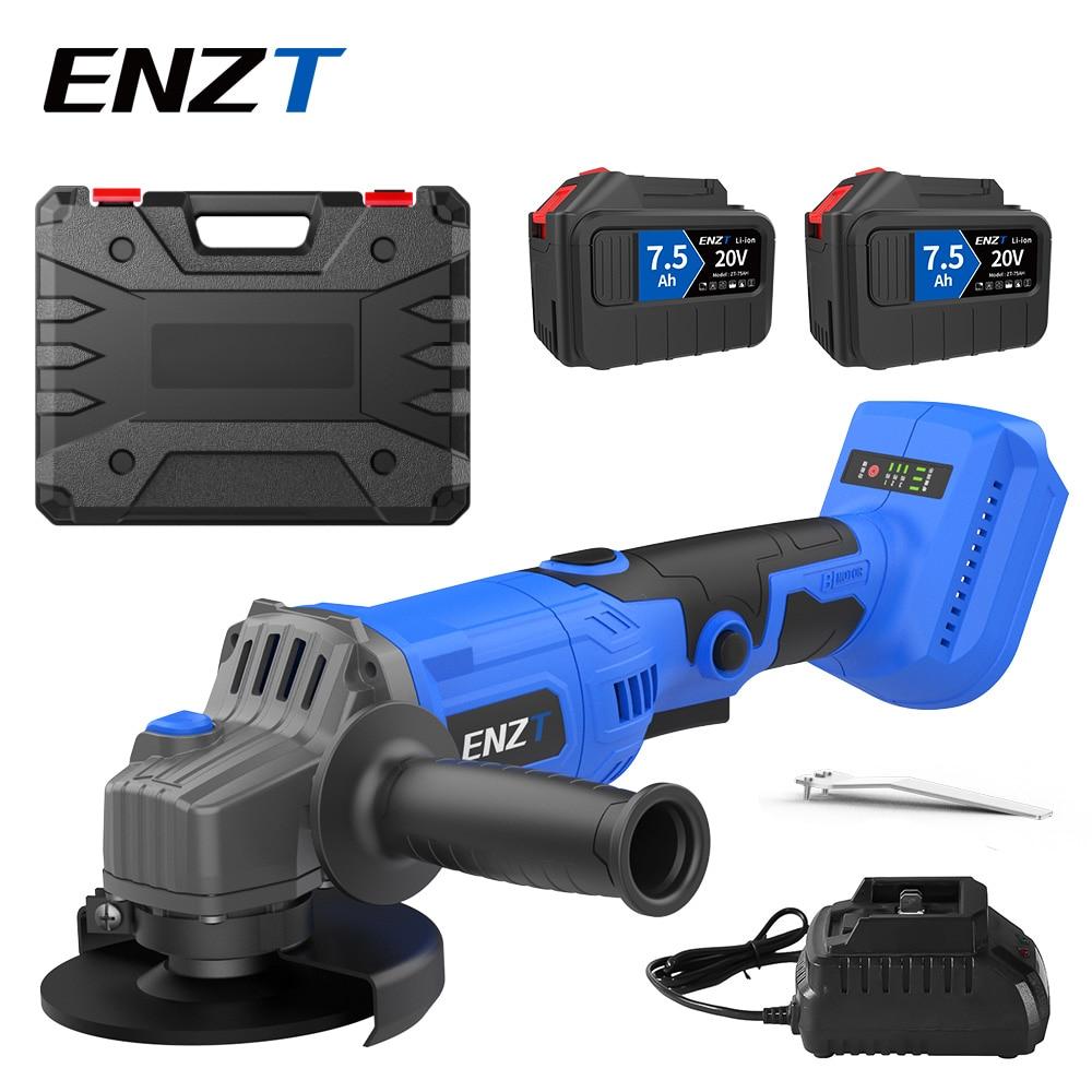 ENZT 100/125 مللي متر فرش اللاسلكي زاوية طاحونة البلغارية لتقوم بها بنفسك أدوات طاقة كهربائية تلميع ماكينة الطحن مع ماكيتا