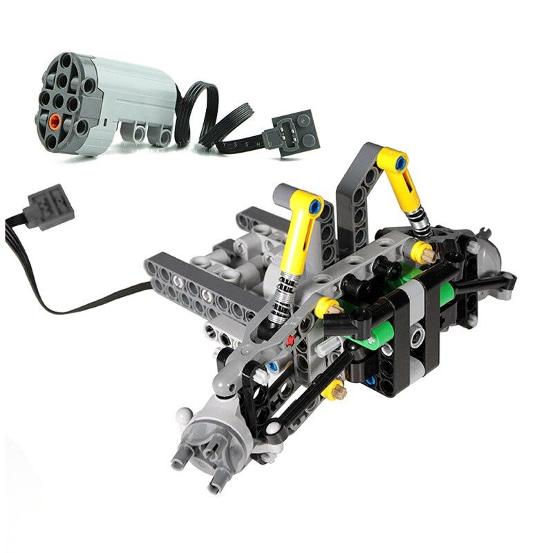 NEUE Technik MOCs Teile Vordere Aufhängung Lenkung System Für Geländewagen Bricks Kompatibel mit logos kinder DIY Spielzeug geschenke