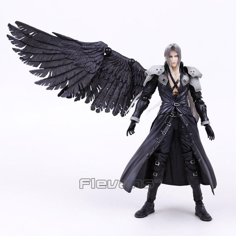 Jugar artes Kai Final Fantasy VII 7 Sephiroth PVC figura de acción de colección modelo de juguete