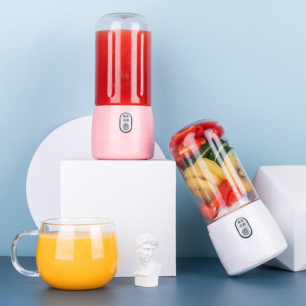 المحمولة الكهربائية عصارة USB قابلة للشحن خلاط عصائر صغيرة عصير الفاكهة صانع يده خلاط مطبخ خلاطات الخضار