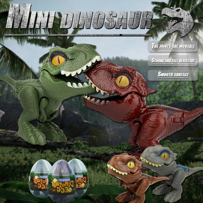 Креативная-серия-Пальчиковое-яйцо-динозавра-мини-тираннозавр-рекс-модель-кусающая-рука-детская-игрушка-интерактивный-Рождественский-набо
