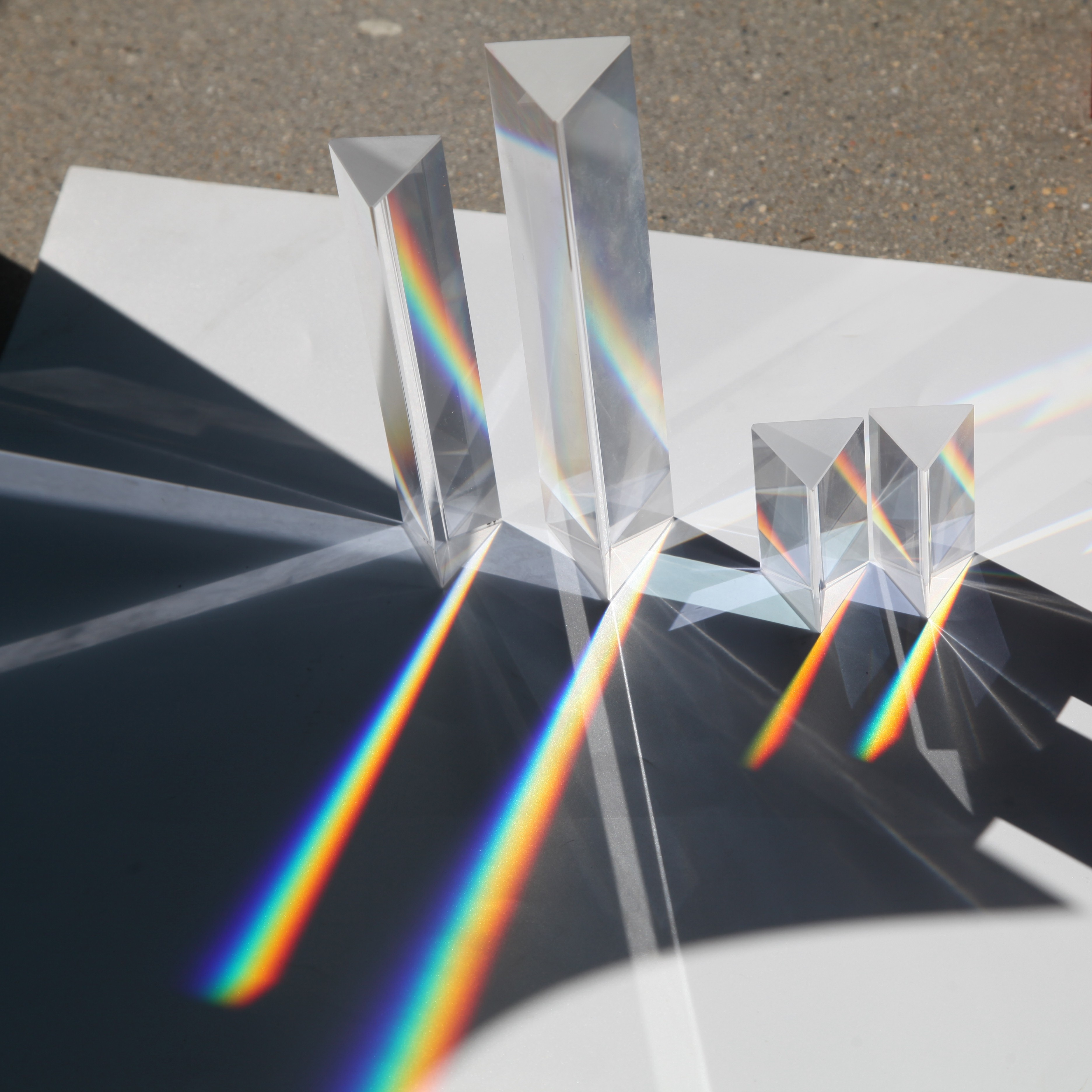 Оптическое стекло правый угол Призма Радуга фото реквизит физическое экспериментальное Оборудование сетка красное зеркало Mitsubishi