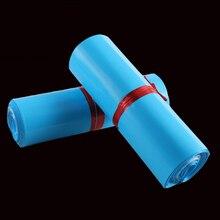 Blau Mail Verpackung Poly Mailer Paket Verschiffen Kunststoff Mailing Tasche Durch Umschlag Kurier Selbst-Adhesive Supplies Geschenk Kleiden Box