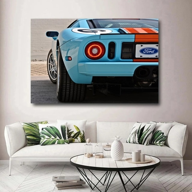 Modular GT Super Car Racing Sportscar Canvas HD Prints Wall Art Posters Paintings Living Room Home Decor Pictures No Framework 2