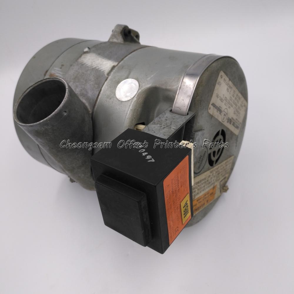 Original Usado A4.179.1501 Blower G2.179.1511 Filtro Ametekgebl Para HD QM46 SX74 PM52 SM52 SM74CN SM74PreDrupa 2008 Máquina