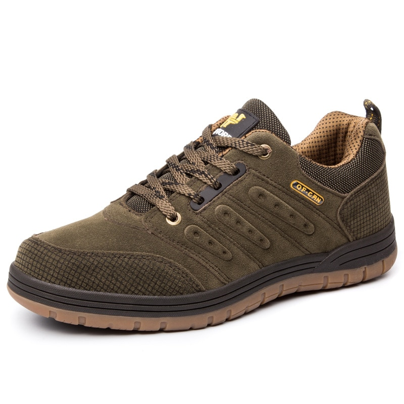 Outdoor Classic Style Sports Casual Shoes Popular Fashion Hiking Climbing Shoes Trekking Footwear Men Walking Board Sneakers
