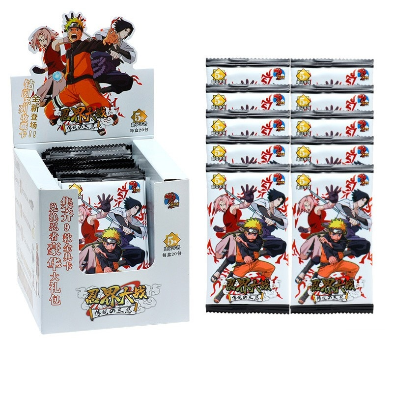 100PCS Japanese Hapyto Shippuden Hinata Sasuke Itachi Kakashi Gaara Toys Hobbies Hobby Collectibles Game Collection Anime Cards 2021 new japanese uchiha sasuke uchiha american version hobby collectibles memorial game anime collection cards