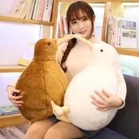 203050cm lifelike kiwi bird plush toy cute stuffed animal toy for children kids doll soft cartoon pillow lovely birthday gift